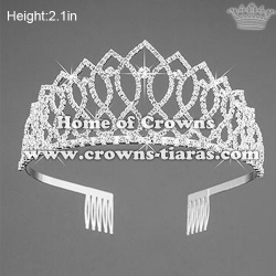 Lovely Crystal Party Queen Crowns