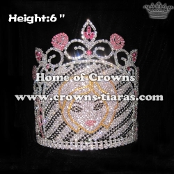 6inch Gorgeous Girl Crystal Pageant Crowns