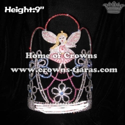 Custom Butterfly Fairy Pageant Crowns