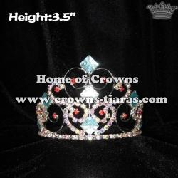 Square Blue Diamond Princess Crowns