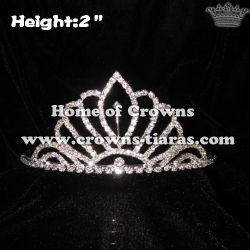 2inch Wholesale Crystal Tiaras