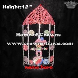 12in Big Tall Custom Circus Clown Pageant Crowns