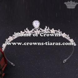 Wholesale Unique Tiaras With Zircon Diamonds