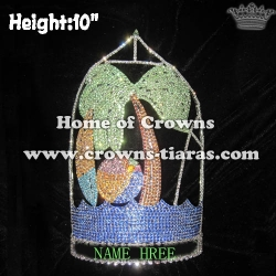 10in Height Custom Summer Crowns With Surfboard