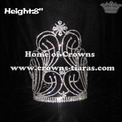 8in Unique Pageant Queen Crowns
