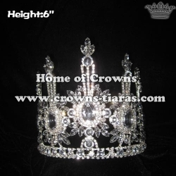Wholesale Pageant Crowns With All Clear Crystal Diamonds