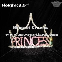 Pink Crystal Princess Tiaras