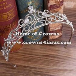 High Quality Luxury Zircon Diamond Wedding Tiaras