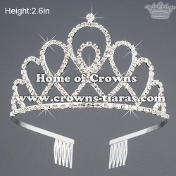 Wholesale Rhinestone Princess Birthday Tiaras