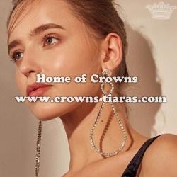 Alloy Crystal Rhinestone Princess Earrings