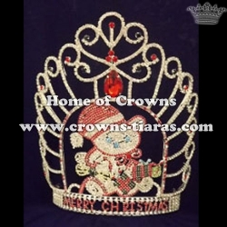 Merry Christmas Custom Crowns with MERRY CHRISTMAS