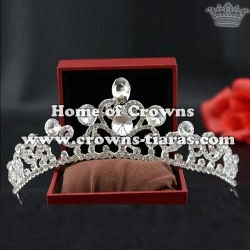 Wholesale Crystal Wedding Crowns Party Tiaras