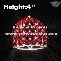 Red Heart Diamonds Pageant Queen Crowns