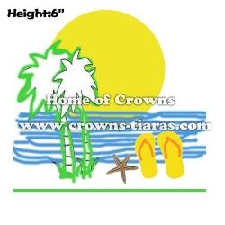 6inch Sunshine Slipper Summer Crowns