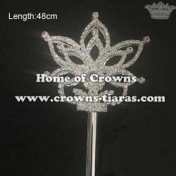 Crystal Pageant Queen Scepter