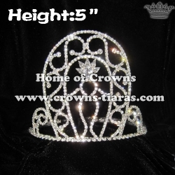 Angle Crystal Pageant Crowns