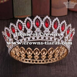 Crystal Full Round Stock Pageant Crowns