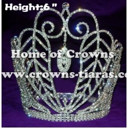 6inch Queen Rhinestone Pageant Crowns