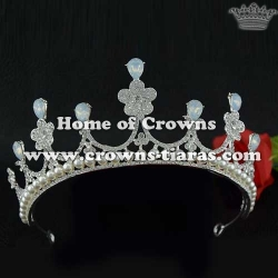 Flower Shaped Bridal Crown
