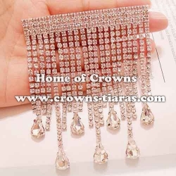 Fashion Crystal Rhinestone Pageant Queen Brooches
