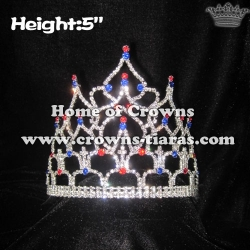 Wholesale Pageant Crystal Queen Crowns