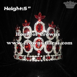 Red Diamond Hot Selling Queen Crowns