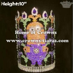 10in Height Pageant Minions Crowns Stock Crowns