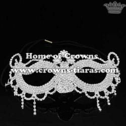 Wholesale Rhinestone Fancy Ball Queen Mask