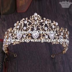 Wholesale Unique Diamond Crystal Crowns