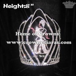 Sweet Gorgeous Girl Crystal Crowns