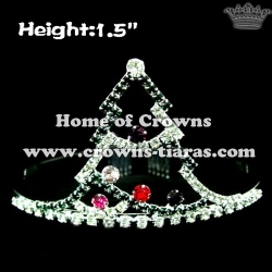 Christmas Crowns In Christmas Tree Shaped