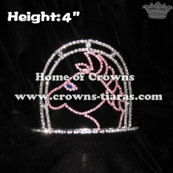 Cowboy Horse Crystal Crowns