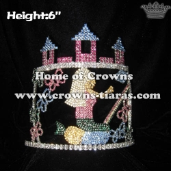 Crystal Castle Cinderella Pageant Rainbow Pageant Crowns