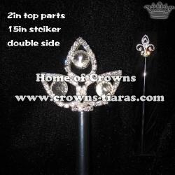 Big Diamond Crystal Scepter