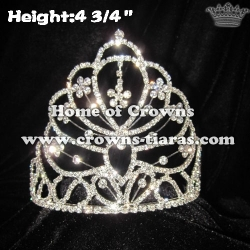 All Clear Crystal Rhonestone Crowns