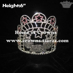 Crystal Mickey Pageant Crowns With Stars