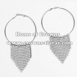 Wholesale Rhinestone Fashion Party Show Earrings