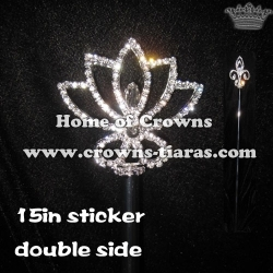 Double Side Wholesale Pageant Scepters