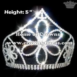 Big Flower 5inch Height Crowns