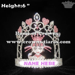 Crystal Custom Monster Pageant Crowns