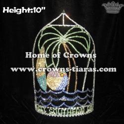 Ocean Sea Summer Beach Ball Summer Crystal Crowns