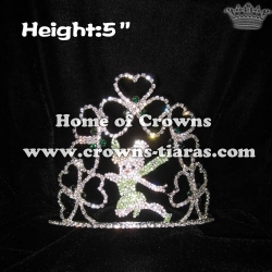 Wholesale Custom Crystal Fairy Pageant Crowns
