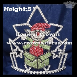 Elf Crystal Pageant Crowns