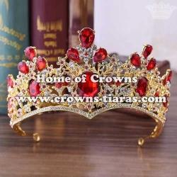 Wholesale Crystal Diamond Wedding Stock Crowns