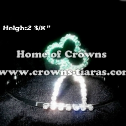 Crystal Clovers Pageant Crowns
