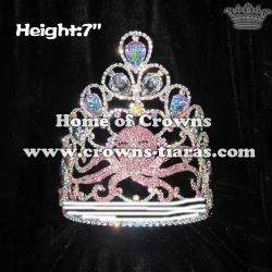 Custom Rhinestone Octopus Pageant Crowns