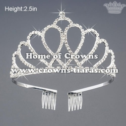 Unique Beauty Crystal Princess Crowns