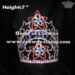 Wholesale Pageant Crowns  4th Of July