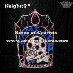 Wholesale Custom Rhinestone Hollywood Star Pageant Crowns