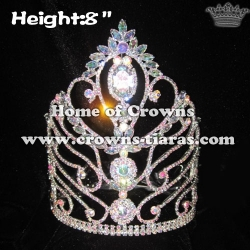 Wholesale Queen Pageant Crowns With AB Diamonds